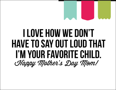 photo regarding Funny Printable Mothers Day Cards titled Printable Moms Working day Card moments 2 Proportion Your Craft