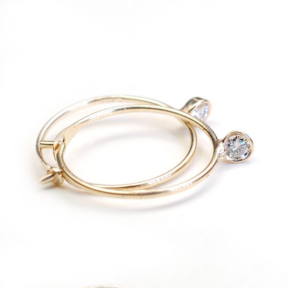 Small Gold Huggie Earrings Topearrings