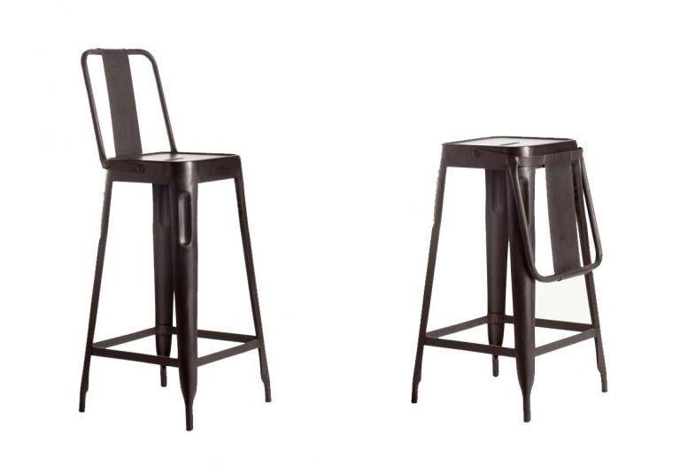 Tabouret De Bar Industriel 28 Idees Deco Pour La Cuisine Tabouret De Bar Industriel Chaise Bar Tabouret Avec Dossier
