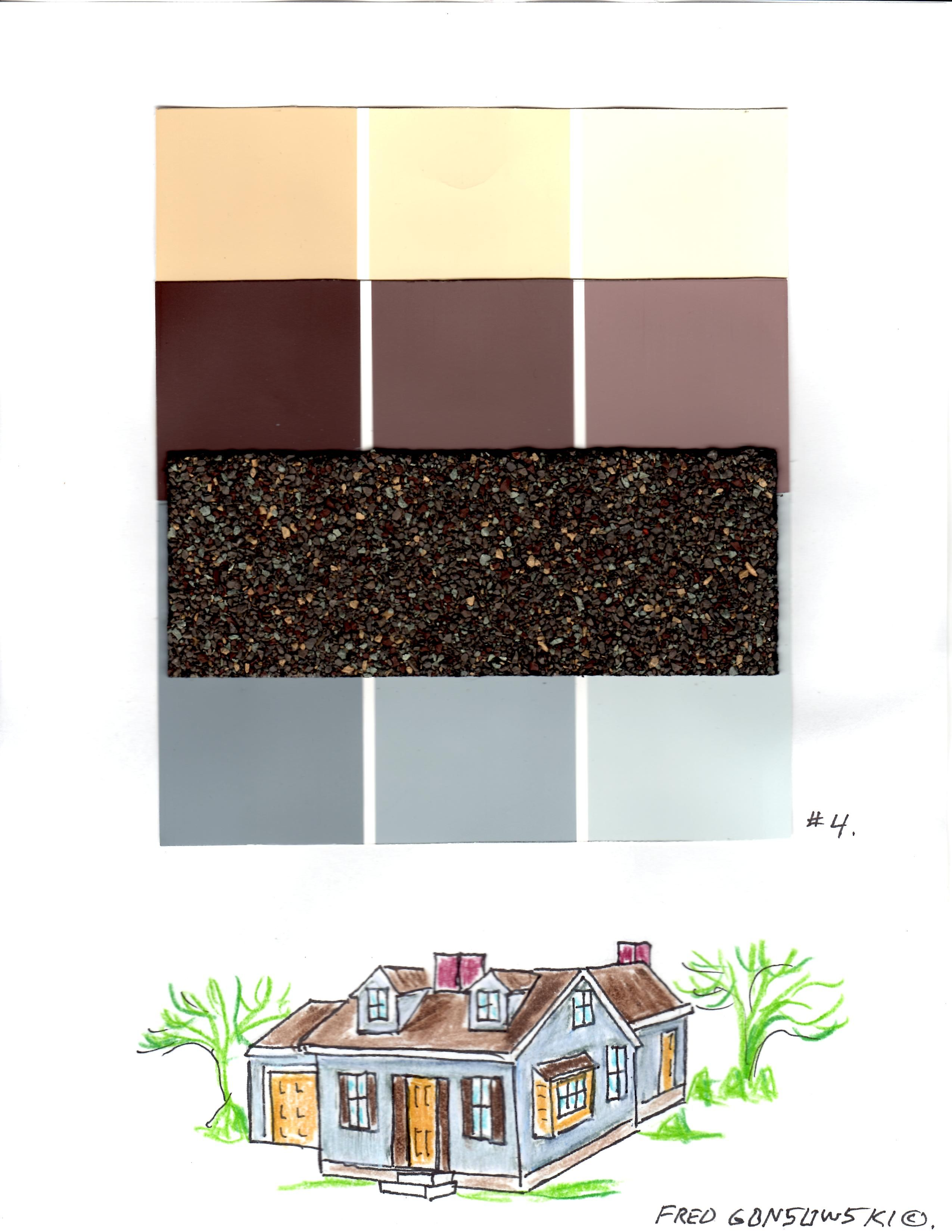 Best Picking The Right Paint Or Siding Color S For Your House Brown Roofs Siding Colors Exterior 400 x 300