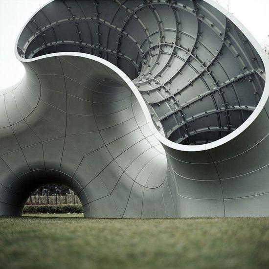 Aluminum Structure Organic Architecture Structure Architecture Futuristic Architecture
