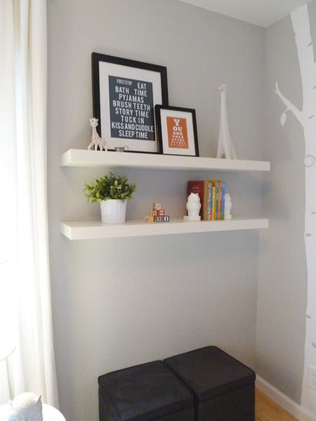 Floating Shelves For The Hallway Would Want Them Up Whole Height Of Wall