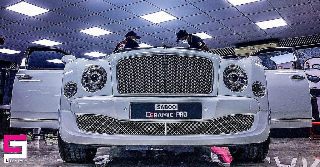 Bentley Mulsanne Has Been Serviced According To Its Status In Detailing Center Ceramic Pro India Hyderabad Bentley Mulsanne Bentley Ceramics