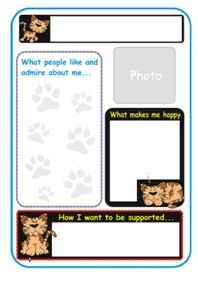 One Page Profile Templates  Free Profile Templates
