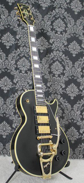 2008 Gibson Custom Jimmy Page Black Beau