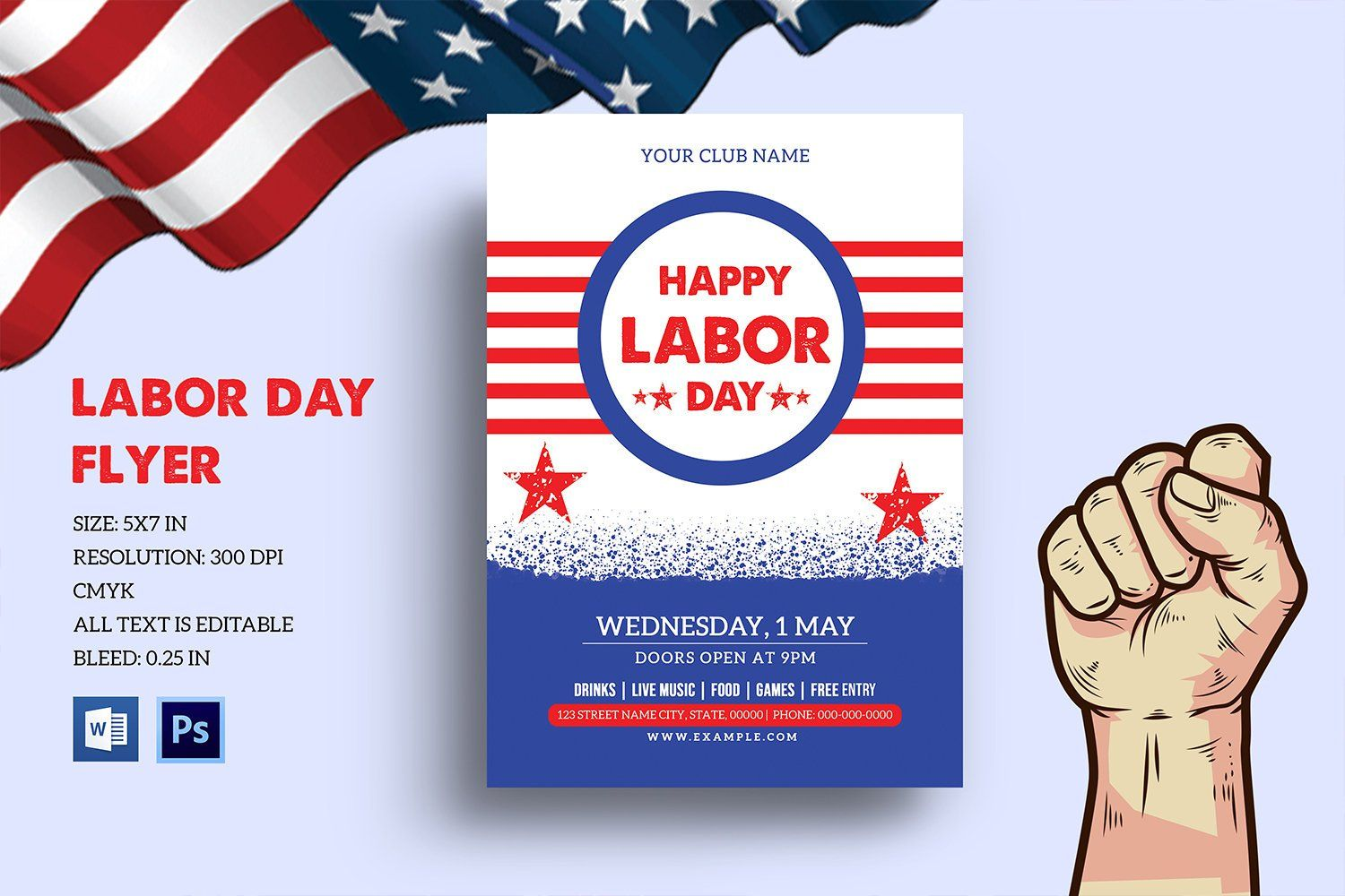 This Item Is Unavailable Etsy Flyer Template Invitation Flyer Flyer Free labor day flyer template