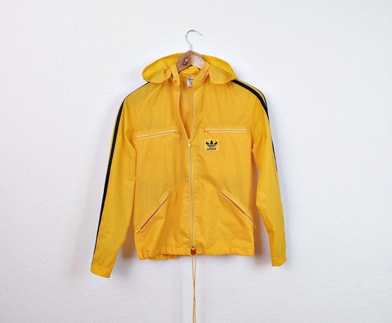 80s Oldschool Adidas Windbreaker for Kids. Vintage Children ...