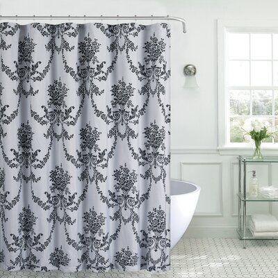 Rosdorf Park Montanez Single Shower Curtain Colour Silver In 2020