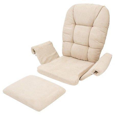 Shermag Universal Cushion Set Pearl Target Glider Cushions Glider Replacement Cushions Replacement Cushions