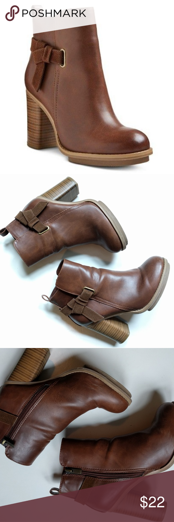 Aldo for Target A+ Melody Ankle Booties Very gently used. First image is from Target's website but is the most accurate color wise. If there are any other images you would like to see please let me know! Sorry, no trades. Aldo Shoes Ankle Boots & Booties