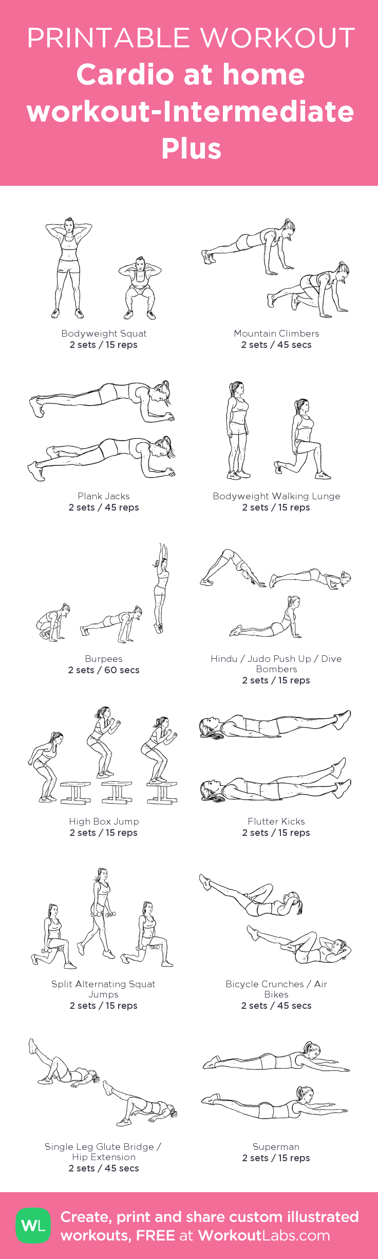 picture about Printable Workouts at Home named Fitness for a Wholesome Centre conditioning Aerobic at household