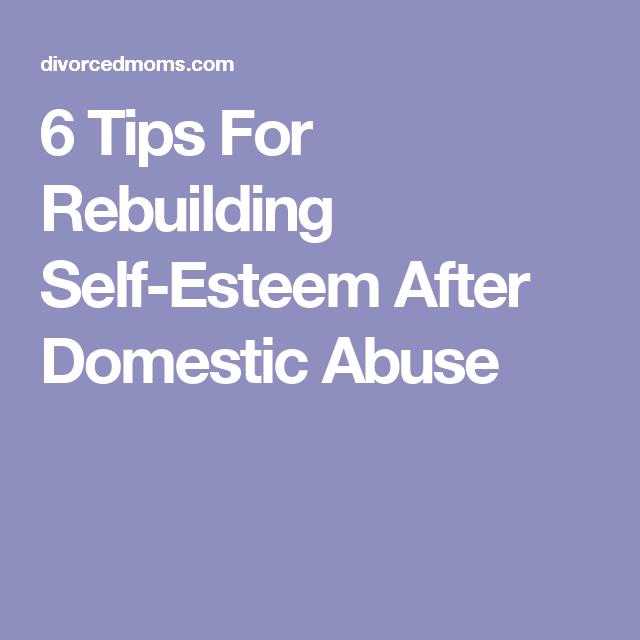 Rebuilding self confidence