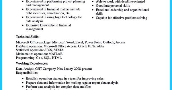 Resume Sample Template And Format share Pinterest Resume and - how to format a resume in word