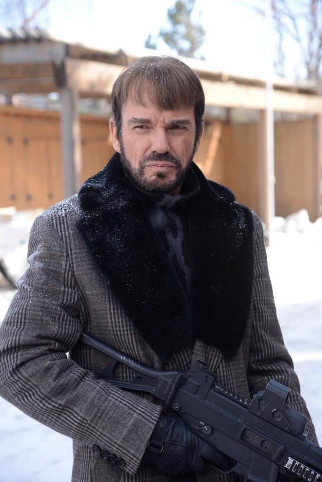 Fargo TV series on FX, Billy Bob Thornton as Lorne Malvo