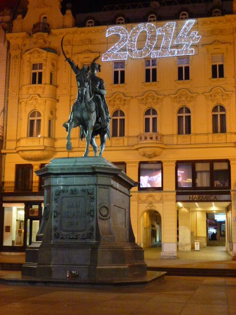 Ban Jelacic Square Zagreb Croatia 2013 Croatia Travel Croatia Zagreb