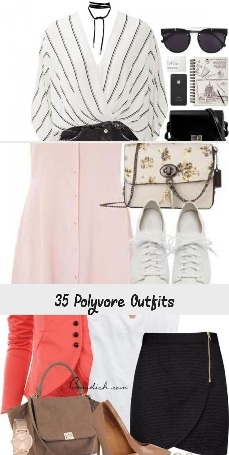 Polyvore Outfit Ideas for Spring #Spring #Polyvore #Outfits