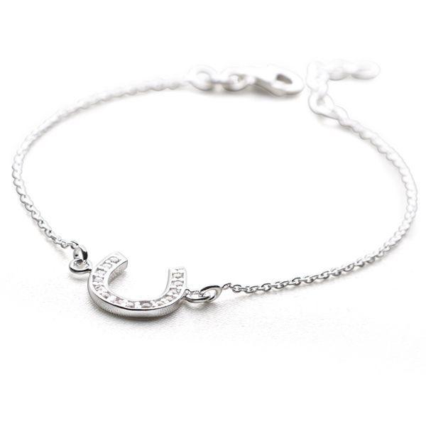 Lucky Horseshoe Bracelet Silver Bracelets By Mail Website