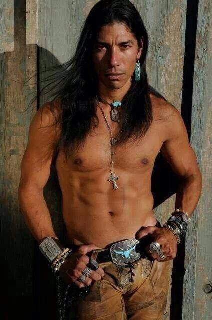 Sexy native american man