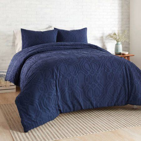 Better Homes and Gardens 3-Piece Clipped Jacquard Comforter Set ...