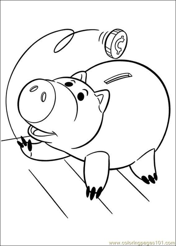 toy story coloring sheets Google