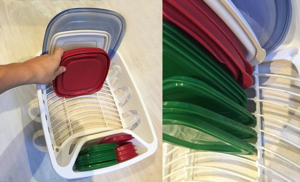 DIY Tupperware Organization Hacks Tupperware organizing