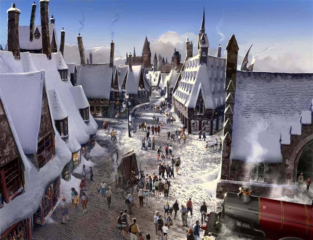 Hogwarts Christmas Google Search Harry Potter World Universal Harry Potter Theme Park Universal Islands Of Adventure