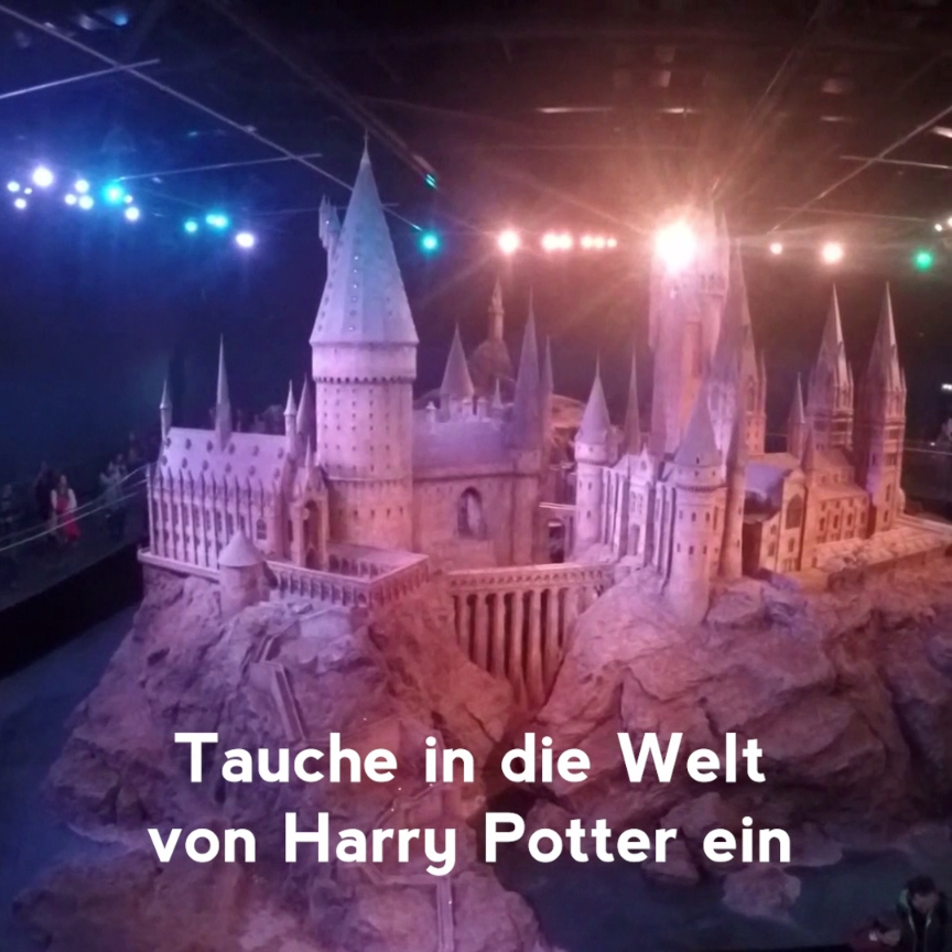 Entdecke Die Harry Potter Studios Entdecke Die Harry Potter Studios Ein Must Have Fur Echte Harry Potter Fans Love Harry Potter Reise Studios Harry Potter