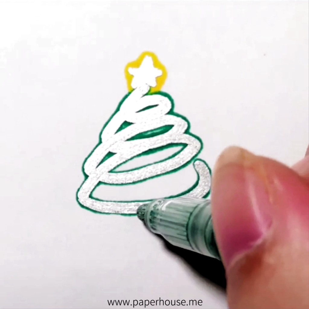 ✔ Christmas  Drawings Videos DIY #christmas #christmastree #christmastime