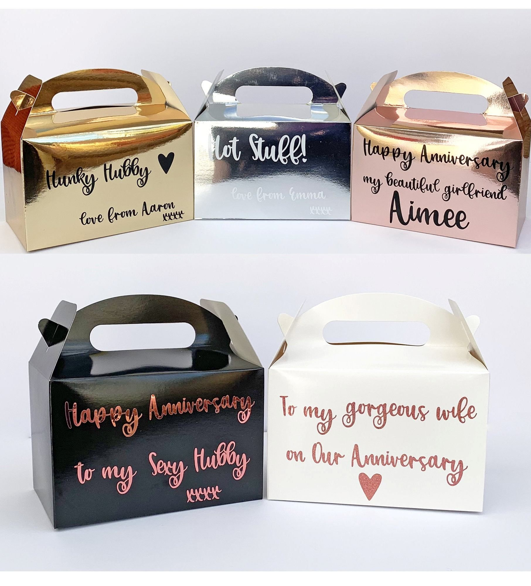 Anniversay Gift Box / Wedding Day Personalised Present