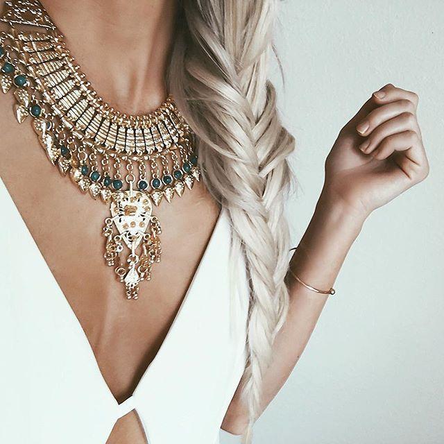 Imagem de fashion, necklace, and style