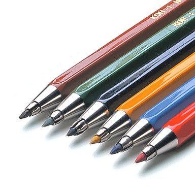 Coloured Metal Lead Holders