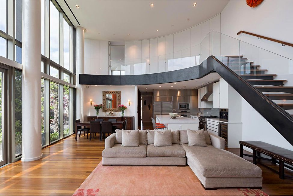 gorgeous interior gorgeous two story penthouse on the