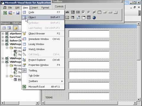 Create Invoices using Template with User Form in Excel - YouTube - microsoft invoices