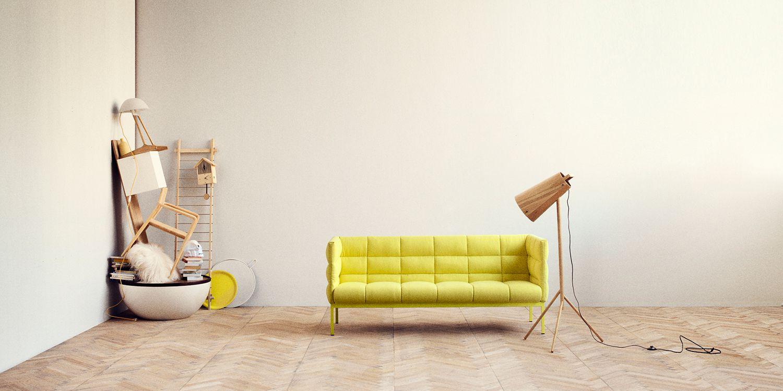 Hochwertig Dieses Sofa Ist Elegant, Schlicht Und Leicht   Nahezu Schwebend. Die  Runden, Flauschigen Formen Bieten Einen Erstaunlich Eleganten Sitzkomfort  Und Lassen ...