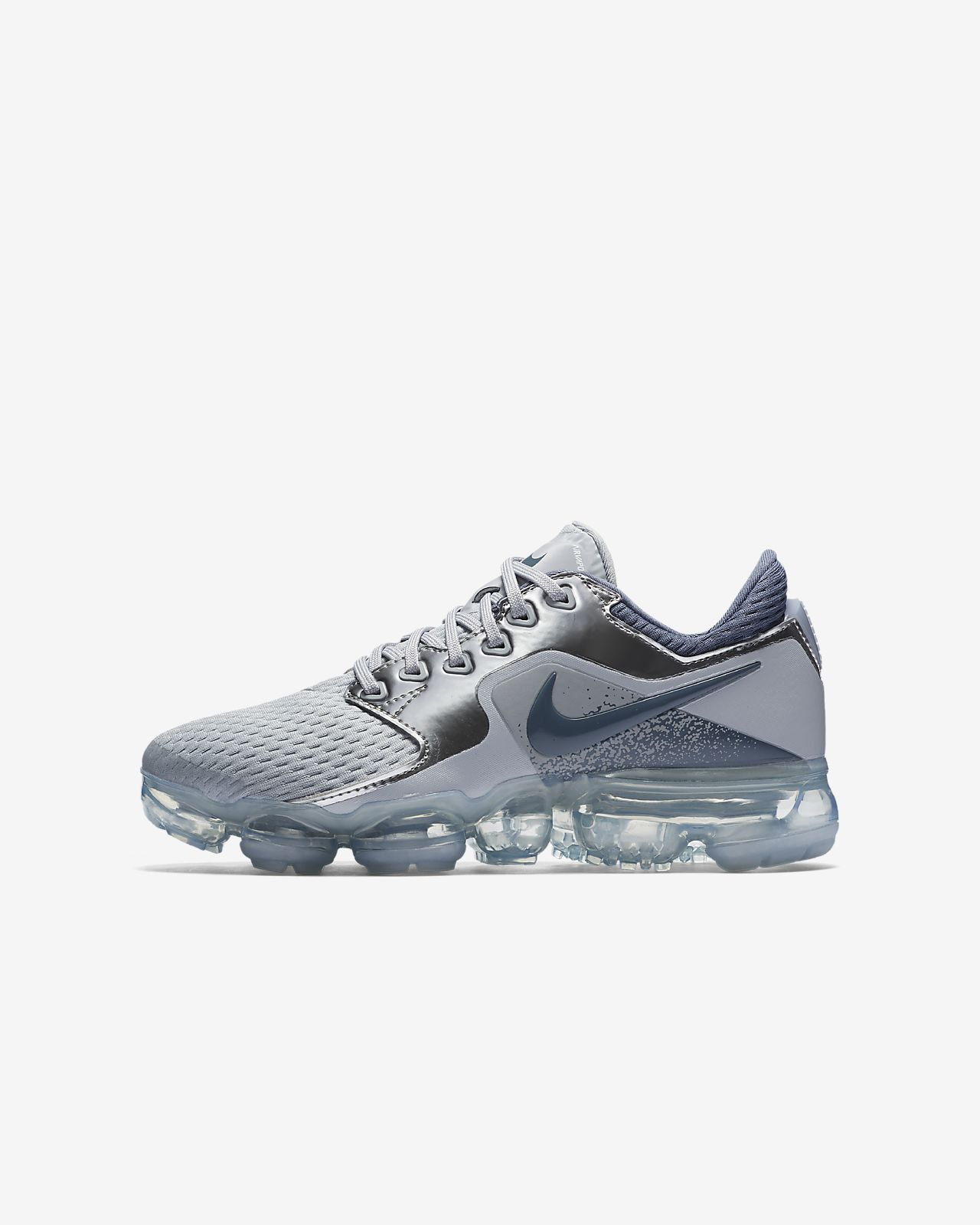 38766a3c3ea5 Nike Air VaporMax Big Kids  Running Shoe