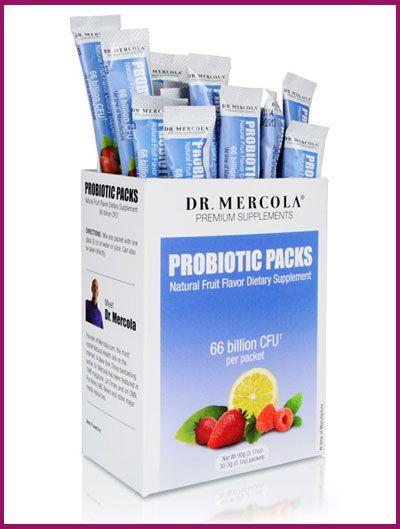 Dr. Mercola's Probiotics Packs