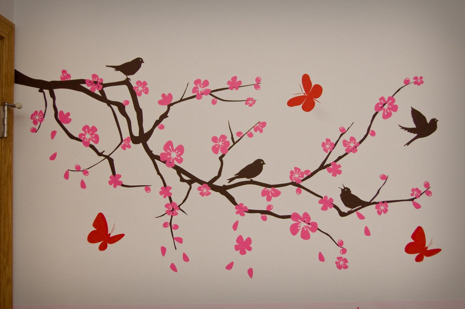 japanese tree branch painting | it! It looks perfect! That ...