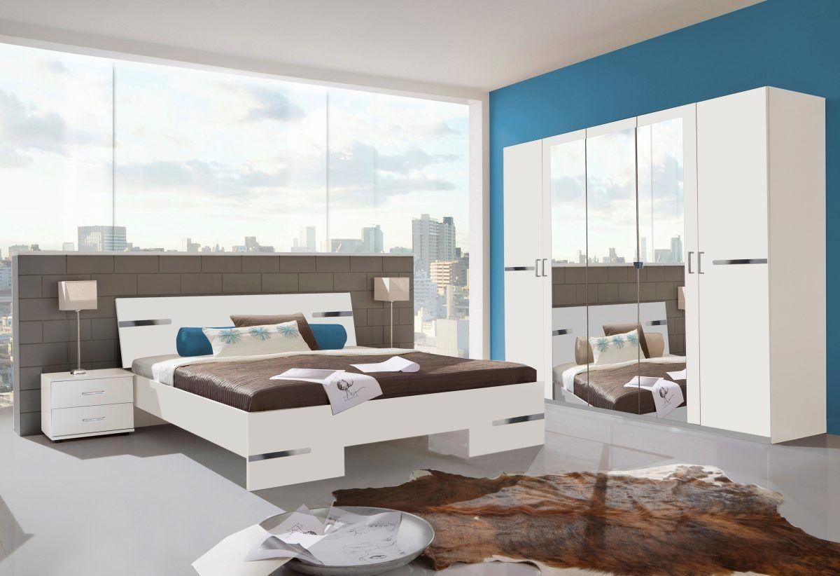 Wimex Schlafzimmer-Set ´´Kopenhagen´´ (4-tlg.), weiß, WIMEX Jetzt ...