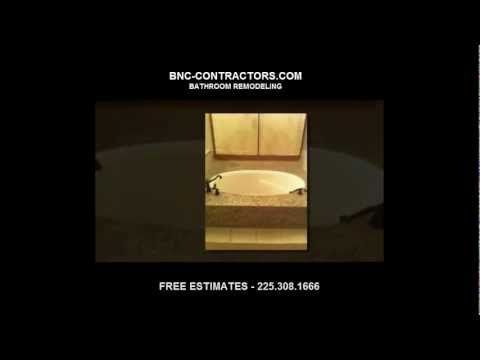 Bathroom Remodeling in Baton Rouge, LA, Home construction, renovate contractors. custom showers and bathtubs.