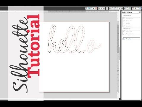 ▶ Fixing Bad Welds | Point Edits - Silhouette Studio Tutorial - YouTube