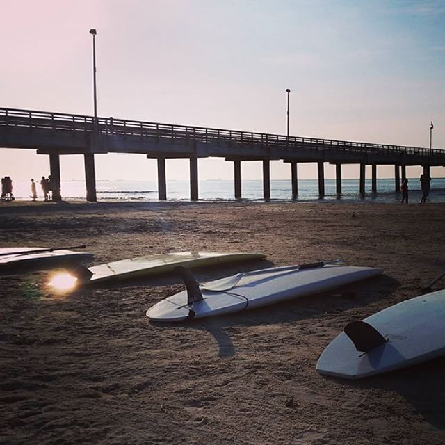 Mustang Island Beach: Paddle Boarding For Me And You And You And You And You