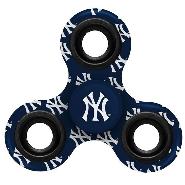 New York Yankees Logo Three Way Fid Spinner
