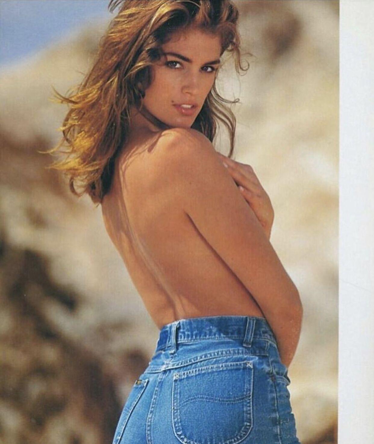 Синди кроуфорд коллекция джинсов фото тогда
