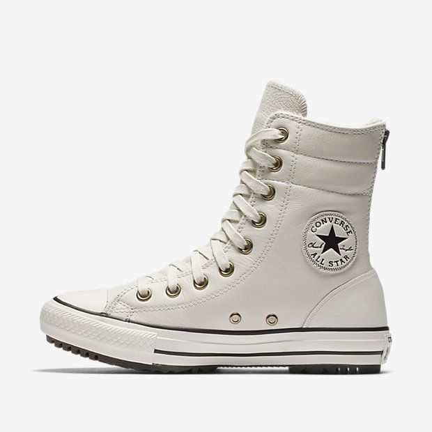 Converse Chuck Taylor All Star Leather and Faux Fur High Rise Women's Boot