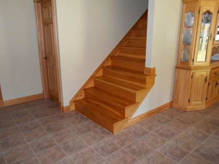 Hickory Stair Tread   Americau0027s Heaviest And Strongest Hardwood. Hickory  Has A Tan To Brown