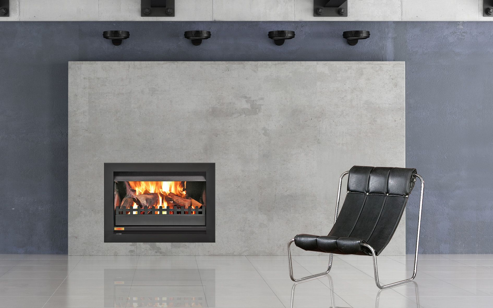 Jetmaster 850 Universal Open Woodfire Enhance The Comfort And