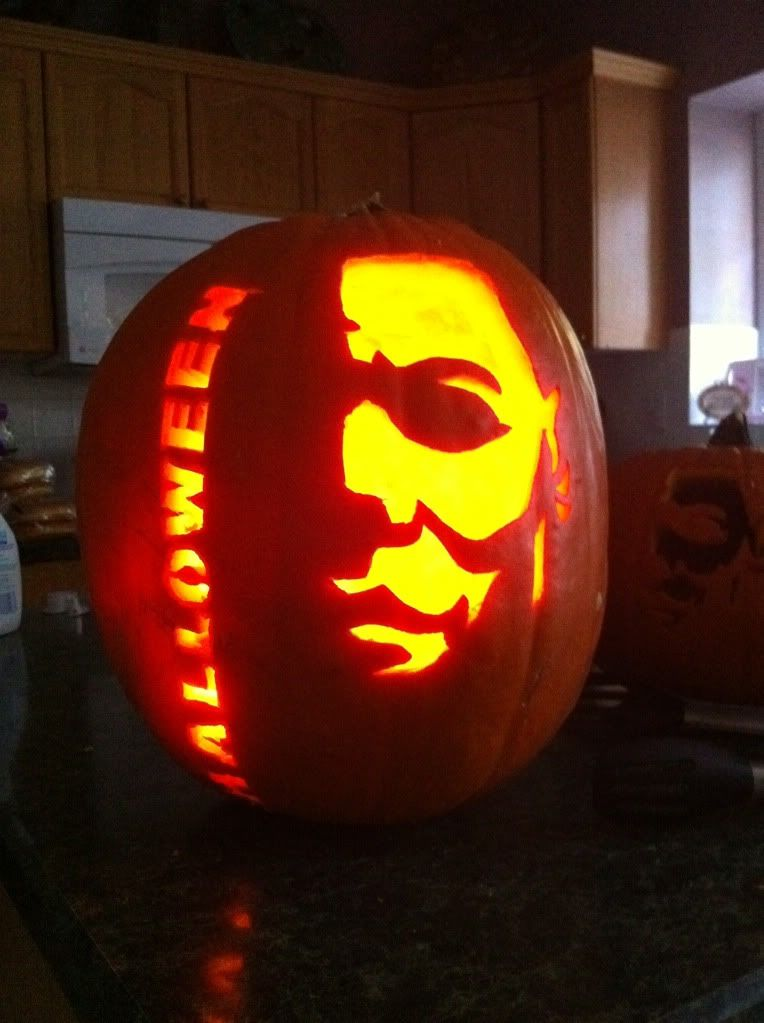Michael Myers Pumpkin Carving Patterns Google Search