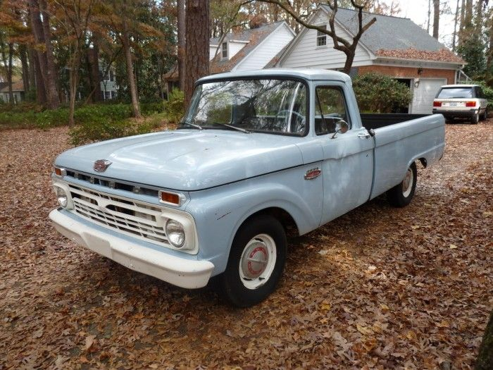 Hemmings Find of the Day – 1966 Ford F100 | Ford, The rust ...  Hemmings Find o...
