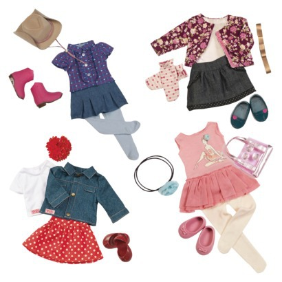 Our Generation Doll Outfit Set Collection - accessories for her american  girl doll, I think the our generation doll clothes at target will fit