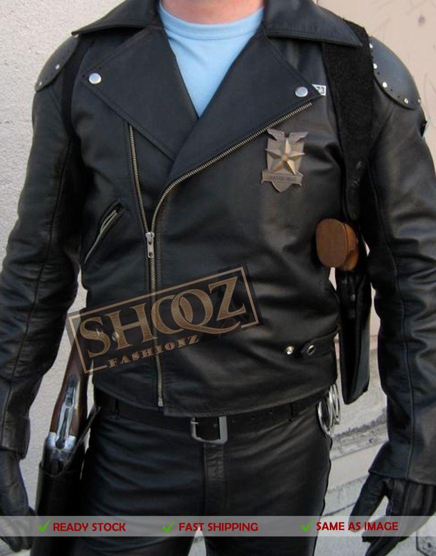 Mad Max Mel Gibson Rockatansky Black Biker Jacket Leather Jacket Style Jackets Black Biker Jacket [ 1110 x 870 Pixel ]